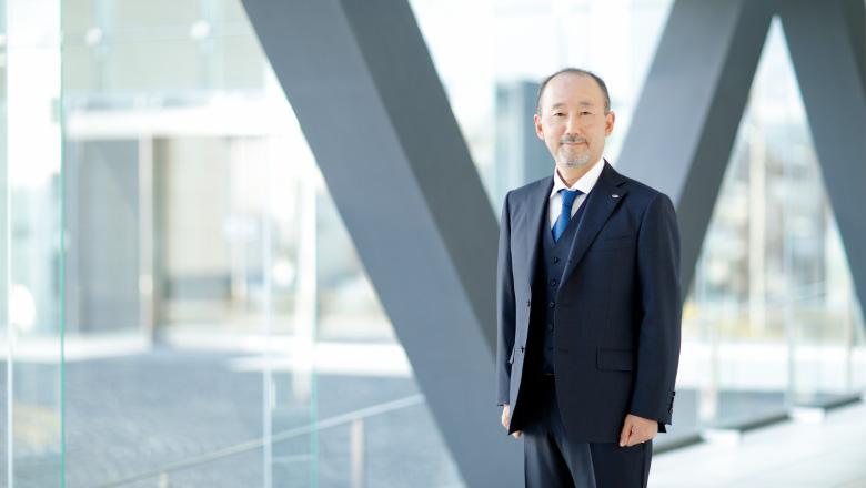 江守商事株式会社 代表取締役社長 市川哲夫の写真